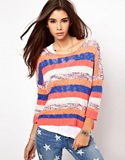 Only Bright Stripe Jumper