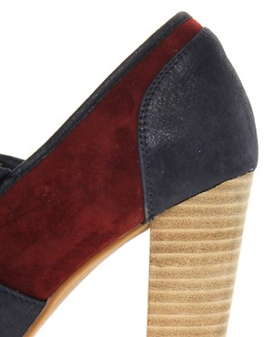 Image 2 ofRiver Island Tassle Fringe Platform Heels