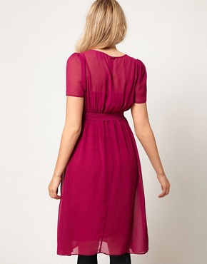 Image 2 of ASOS Maternity Exclusive Midi Dress