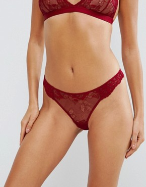 ASOS Ria Basic Lace Mix & Match Thong