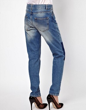 Image 2 ofASOS Brady Slim Boyfriend Jeans With Shadow Detail