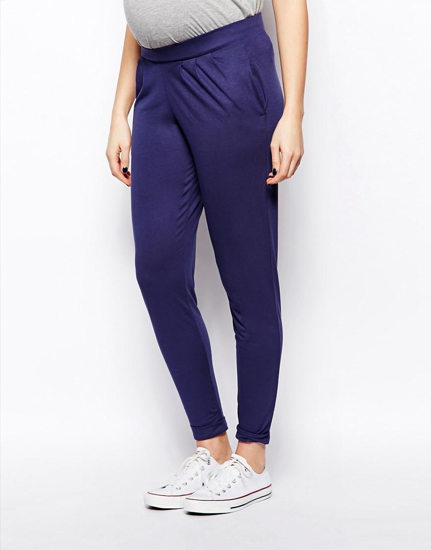 Image 4 ofASOS Maternity Peg Trouser
