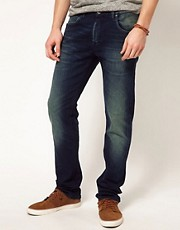 Lee Jeans Daren Straight Fit Mid Blue Wash