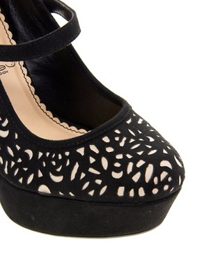 Image 4 ofNew Look Pernia Platform Maryjane Shoes