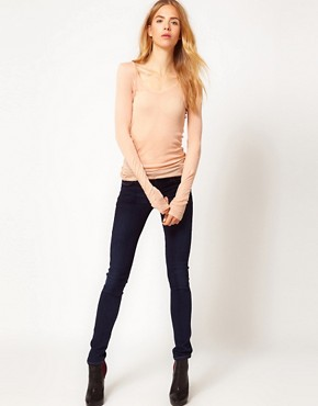 Image 1 ofCitizens of Humanity Avedon Skinny Leg Jeans in Royal