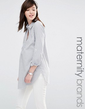 Mamalicious Stripe Shirt