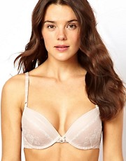 Elle Macpherson Intimates Coral Landscape Plunge Boost Contour Bra
