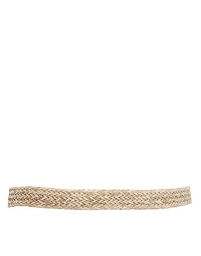Image 3 ofOasis Plait Leather Belt