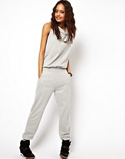 ASOS Sleeveless Onesie with Hood