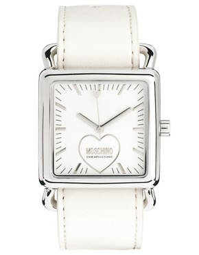 Image 2 ofMoschino Cheap &amp; Chic Fashion Victim Scarf Watch