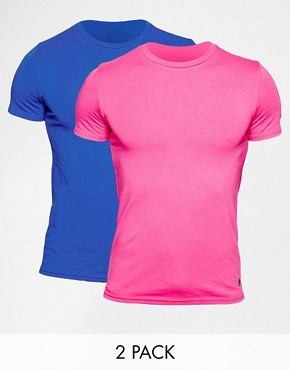 Polo Ralph Lauren T-Shirts In 2 Pack In Stretch Fit