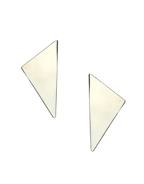 Image 1 ofASOS Triangle Wing Earrings