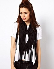 ASOS Scarf With Fringe Detail