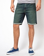 Levis Denim Shorts 508 Tapered
