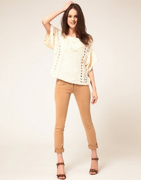 Image 4 ofKookai Knit Jumper With Fringe Detail
