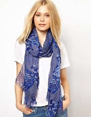 New Look Paisley Scarf