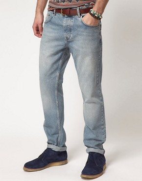 Image 1 ofASOS Bleached Slim Jean