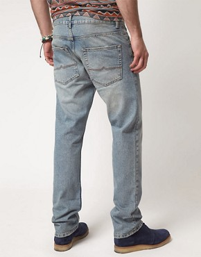 Image 2 ofASOS Bleached Slim Jean