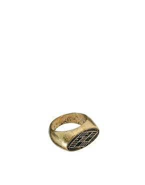 Image 1 ofASOS Roman Ring