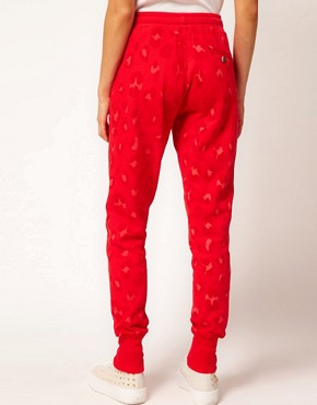 Image 2 ofZoe Karssen Leopard Print Sweat Pants