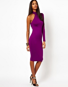 Image 4 ofASOS Polo Dress With One Sleeve