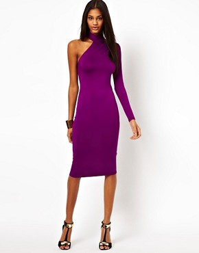 Image 1 ofASOS Polo Dress With One Sleeve