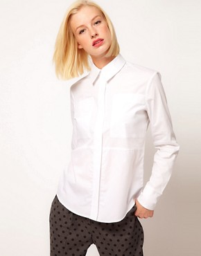 Image 1 - ASOS - Chemise  empicements texturs