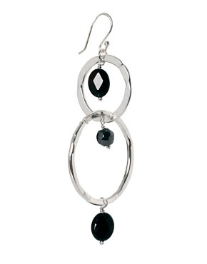 Image 3 ofAshiana Ring Drop Earrings with Semi Precious Stones