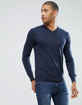 Brave Soul V Neck Jumper