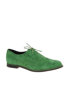 Image 1 ofASOS MARKY Suede Traditional Brogues