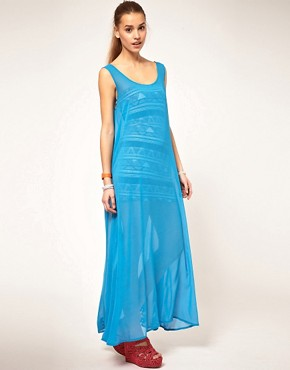 Image 1 ofAmerican Apparel Sheer Maxi Dress
