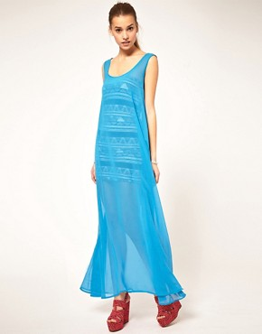 Image 4 ofAmerican Apparel Sheer Maxi Dress