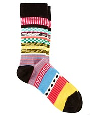 ASOS House Party Pattern Socks
