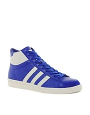 Adidas Originals Blue Hook Shot Trainers