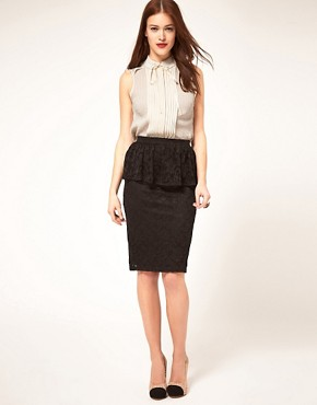 Image 4 ofASOS Textured Sleeveless Blouse