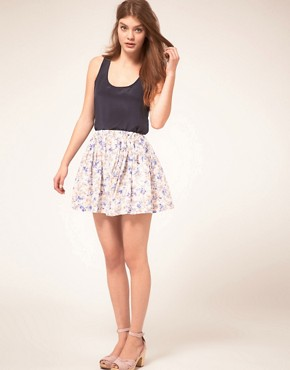 Image 1 ofGat Rimon Cotton Mini Skirt