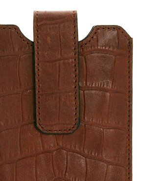 Image 4 ofWhistles Leather iPhone Case