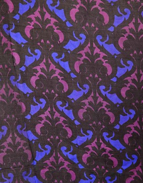 Image 2 ofASOS Dandizette Print Silk Scarf