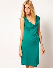 Gestuz Jersey Dress with Cowl Neck