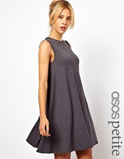 ASOS PETITE Sleeveless Swing Dress