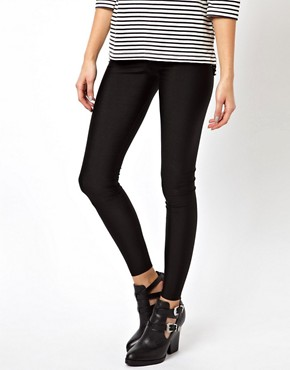 Image 4 ofASOS Disco Leggings in Shimmer Effect
