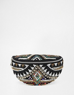 ASOS Aztec Embellished Bum Bag