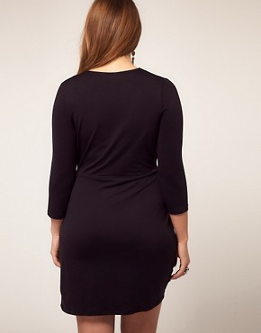 Image 2 ofASOS CURVE Exclusive Wrap Dress