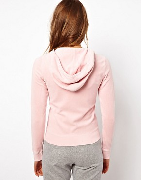 Image 2 ofJuicy Couture Velour Basics Hoodie