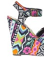 Image 2 ofSteve Madden Winonna Multi print Wedges