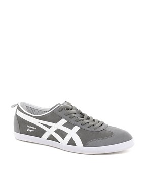 Image 1 ofOnitsuka Tiger Mexico 66 Vulc Suede Trainers