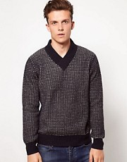 Wolsey Jumper With Birsdeye Pattern