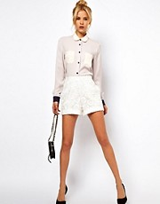 ASOS Shorts In Crochet Lace
