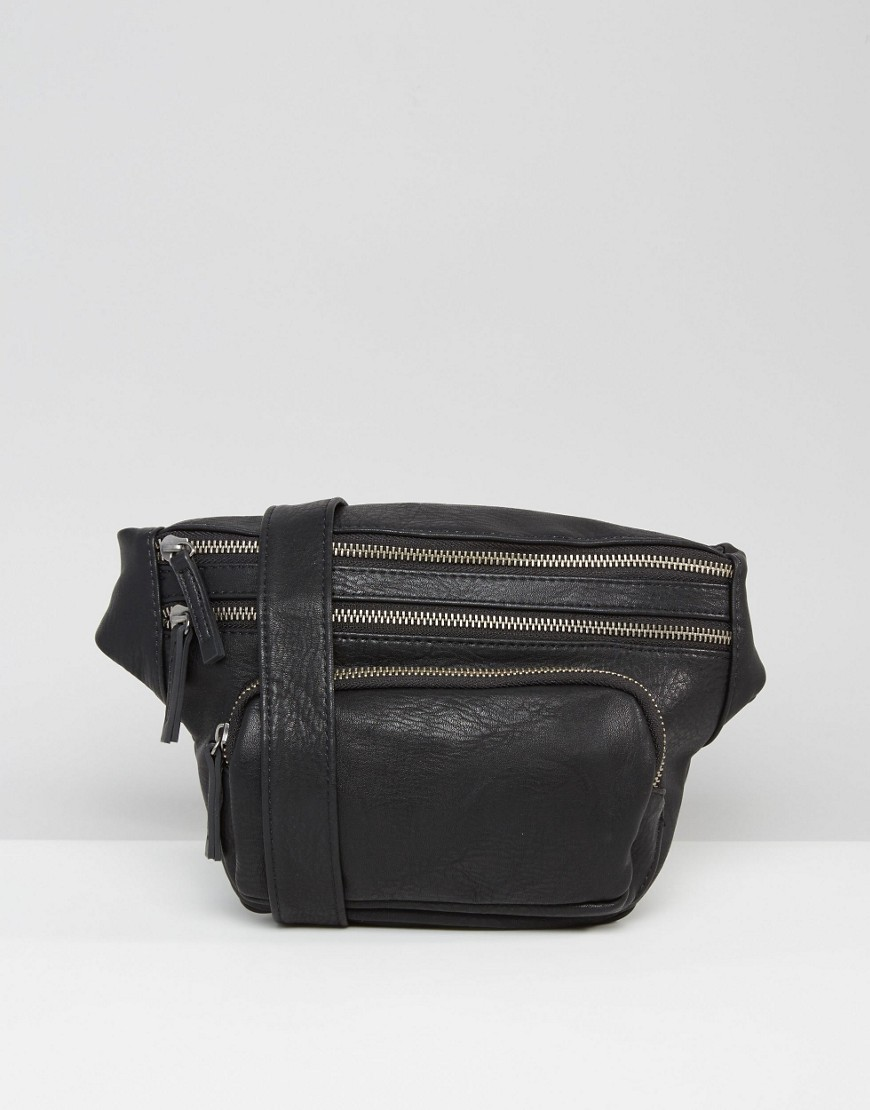Pieces Festival Fanny Pack - Black