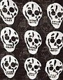 Image 2 ofASOS Metallic Skull Print Scarf